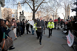 © Licensed to London News PIctures. 01/02/2012. London, UK.  Wikileaks founder Julian Assange arriving at the Supreme Court in London on February 1st, 2012, to appeal against his extradition to Sweden. Assange is  wanted for questioning in Sweden over claims of rape, sexual molestation and unlawful coercion, made by two women. Photo credit: Ben Cawthra/LNP