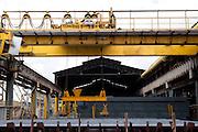 Divinopolis_MG, Brasil...Setor de laminacao de uma siderurgica...A steel sector rolling...Foto: LEO DRUMOND / NITRO