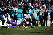 December 10, 2017: Minnesota vs Carolina. Keenum, Case Thomas Davis, Kawann Short