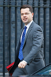 © Licensed to London News Pictures. 17/01/2017. London, UK. Secretary of State for Northern Ireland JAMES BROCKENSHIRE attends a cabinet meeting in Downing Street on Tuesday, 17 January 2017 before Prime Minister Theresa May's Brexit plan speech. Photo credit: Tolga Akmen/LNP