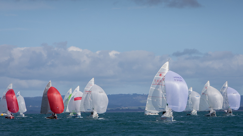 E5.9 regatta, Bream Bay.  July 2013.<br /> Photo: Gareth Cooke/Subzero Images