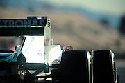 Michael Schumacher (GER) drives the Mercedes AMG Petronas F1W03    Formula One Testing, Circuit de Catalunya, Barcelona, Spain, World Copyright: Jamey Price
