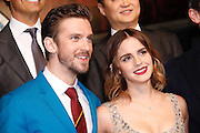 "SHANGHAI, CHINA - FEBRUARY 27: <br /> <br /> British actor Dan Stevens and British actress Emma Watson attend the premiere of American director Bill Condon\'s film ""Beauty and the Beast\"" at Walt Disney Theatre on February 27, 2017 in Shanghai, China. <br /> ©Exclusivepix Media"