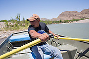 Visitors to Boquillas del Carmen can cross the shallow Rio Grande on foot or pay $5 to a local resident for a short boat ride to the Mexican side of the river.