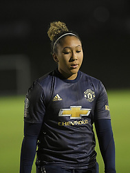 February 20, 2019 - Sheffield, United Kingdom - Lauren James (manchester United)  during the  FA Women's Championship football match between Sheffield United Women and Manchester United Women at the Olympic Legacy Stadium, on February 20th Sheffield, England. (Credit Image: © Action Foto Sport/NurPhoto via ZUMA Press)