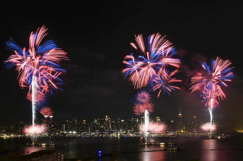 Firework in New York
