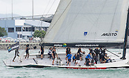 KATE & Prince William Race Emirates Team NZ Yachts