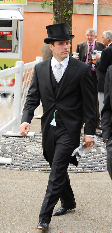 Footballer MICHAEL OWEN at the first day of the 2010 Royal Ascot Racing festival at Ascot Racecourse, Berkshire on 15th June 2010.