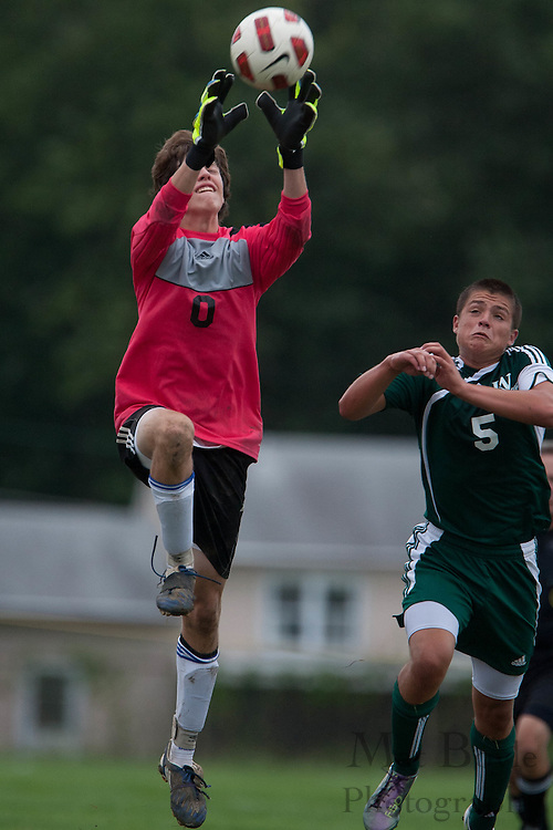 West Deptford plays Sterling High School in a boy's soccer match on Thursday September 8, 2011.