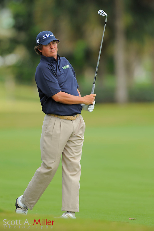 Jason Dufner during the second round of the World Golf Championship Cadillac Championship on the TPC Blue Monster Course at Doral Golf Resort And Spa on March 9, 2012 in Doral, Fla. ..©2012 Scott A. Miller.