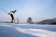 PYEONGCHANG-GUN, SOUTH KOREA - FEBRUARY 16: Dario Cologna of Switzerland during the mens Cross Country 15k free technique at Alpensia Cross-Country Centre on February 16, 2018 in Pyeongchang-gun, South Korea. Photo by Nils Petter Nilsson/Ombrello               ***BETALBILD***