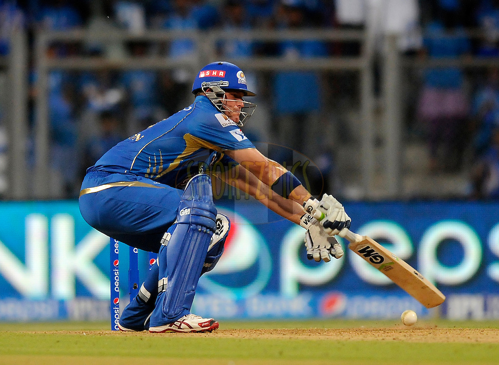 Corey Anderson of the Mumbai Indians bats during match 22 of the Pepsi Indian Premier League Season 2014 between the Mumbai Indians and the Kings XI Punjab held at the Wankhede Cricket Stadium, Mumbai, India on the 3rd May  2014<br /> <br /> Photo by Pal Pillai / IPL / SPORTZPICS<br /> <br /> <br /> <br /> Image use subject to terms and conditions which can be found here:  http://sportzpics.photoshelter.com/gallery/Pepsi-IPL-Image-terms-and-conditions/G00004VW1IVJ.gB0/C0000TScjhBM6ikg