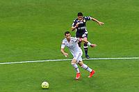 Maxime GONALONS - 02.05.2015 - Lyon / Evian Thonon - 35eme journee de Ligue 1<br />Photo : Jean Paul Thomas / Icon Sport