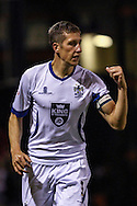 Jim McNulty of Bury during the Sky Bet League 2 match at Kenilworth Road, Luton<br /> Picture by David Horn/Focus Images Ltd +44 7545 970036<br /> 19/08/2014