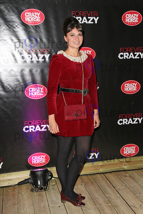 LONDON - SEPTEMBER 19: Gizzi Erskine attended the premiere of 'Crazy Horse Presents Forever Crazy' at The Crazy Horse, London, UK. September 19, 2012. (Photo by Richard Goldschmidt)