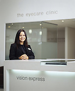 Vision Express consultant<br /> Photography by Zac Macaulay<br /> Tel 0044 07947 884 517<br /> www.linkphotographers.com