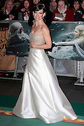 Dec 1, 2014 - The Hobbit: The Battle Of The Five Armies -World Premiere - Red Carpet arrivals at Odeon,  Leicester Square, London<br /> <br /> Pictured: Evangeline Lilly<br /> ©Exclusivepix Media