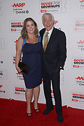 ARLENE SILVER and DICK VAN DYKE arrive at the 15th Annual Movies For Grownups Awards at the Beverly Wilshire Four Seasons Hotel in Beverly Hills, California.