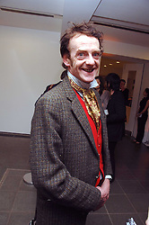 EDWARD TUDOR-POLE at a party to celebrate the publication of Vivienne Westwood's Opus held at The Serpentine Gallery, Kensington Gardens, London W2 on 12th February 2008.<br />