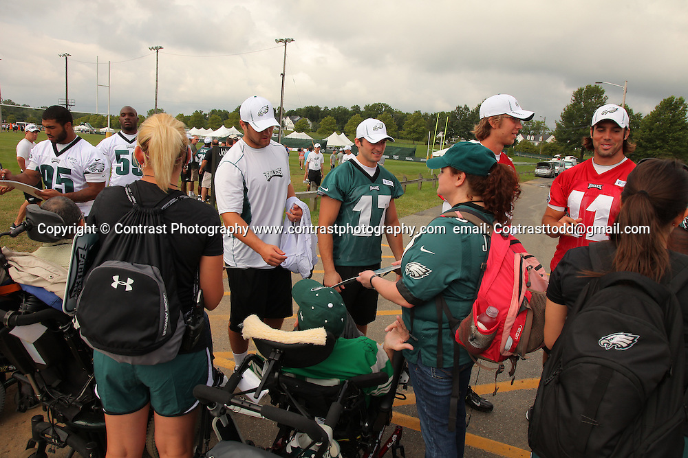 Eagles Training Camp..Mandatory Credit:Todd Bauders/ContrastPhotography.com