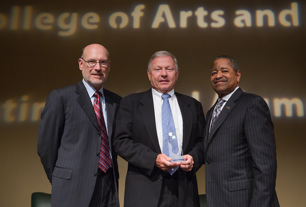 College of Arts and Sciences Distinguished Alumni Awards. Photo by Lauren Pond