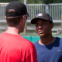Baseball - MLB European Academy - Tirrenia (Italy) - 22/08/2009 - Andy Paz (France)