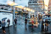 Switzerland, Zurich: central Polybahn from the tram