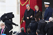 Former Senate Majority Leader Trent Lott arrives with his wife Patricia for the Inauguration of President-elect Donald Trump as the 45th President on Capitol Hill January 20, 2017 in Washington, DC.