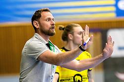 27.04.2018, BSFZ Suedstadt, Maria Enzersdorf, AUT, HLA, SG INSIGNIS Handball WESTWIEN vs Bregenz Handball, Viertelfinale, 1. Runde, im Bild Trainer Hannes Jon Jonsson (SG INSIGNIS Handball WESTWIEN) // during Handball League Austria, quarterfinal, 1 st round match between SG INSIGNIS Handball WESTWIEN and Bregenz Handball at the BSFZ Suedstadt, Maria Enzersdorf, Austria on 2018/04/27, EXPA Pictures © 2018, PhotoCredit: EXPA/ Sebastian Pucher