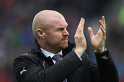 Burnley manager Sean Dyche before the match - Mandatory by-line: Jack Phillips/JMP - 01/04/2017 - FOOTBALL - Turf Moor - Burnley, England - Burnley v Tottenham Hotspur - Premier League