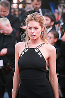 Doutzen Kroes at the gala screening for the film Youth at the 68th Cannes Film Festival, Wednesday May 20th 2015, Cannes, France.