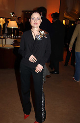 Jeweller ELIZABETH GALTON at a party to celebrate the 2nd anniversary of Quintessentially magazine held at Asprey, Bond Street, London on 24th February 2005.<br /><br />NON EXCLUSIVE - WORLD RIGHTS