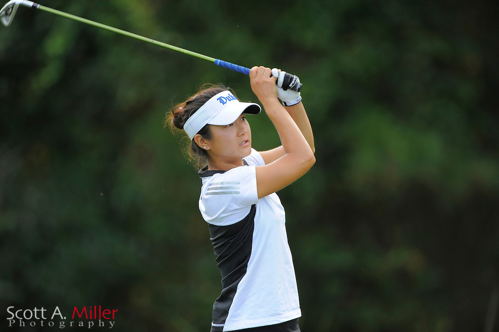 Daytona Beach, Fla.; Sept 7, 2009: Duke Blue Devils player Stacey Kim in action at the Hooters Match Play...© 2009 Scott A. Miller