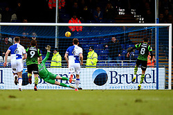 Niall Mason of Doncaster Rovers scores a penalty  - Mandatory by-line: Dougie Allward/JMP - 23/12/2017 - FOOTBALL - Memorial Stadium - Bristol, England - Bristol Rovers v Doncaster Rovers - Skt Bet League One