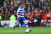 Reading defender John Swift (8) in action during the EFL Sky Bet Championship match between Nottingham Forest and Reading at the City Ground, Nottingham, England on 22 April 2017. Photo by Jon Hobley.