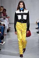 NYFW: Kaia Gerber on the runway during the Calvin Klein Fashion show - 8 Sep 2017