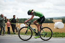 Riejanne Markus (NED) at Ladies Tour of Norway 2018 Stage 1, a 127.7 km road race from Rakkestad to Mysen, Norway on August 17, 2018. Photo by Sean Robinson/velofocus.com