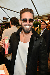 SPENCER MATTHEWS at a party to celebrate the launch of the Taylor Morris Eyewear's Summer Collection held at The Chelsea Gardner, 125 Sydney Street, London on 20th May 2015.