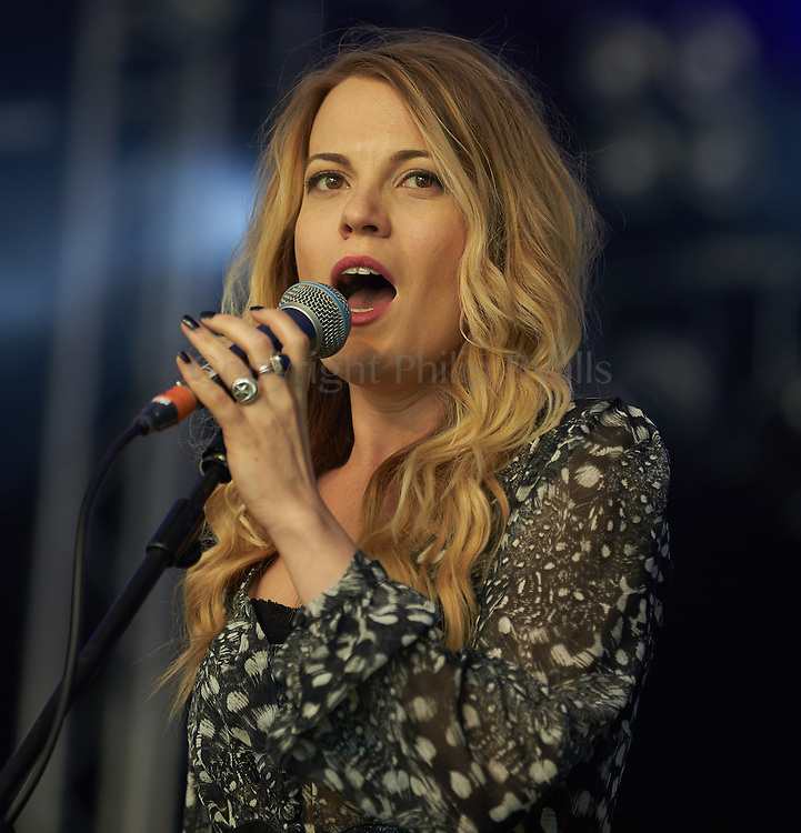 OXFORDSHIRE, UK - JULY 10: Mollie Marriott performs on stage at The Cornbury Music Festival on July 10th, 2016 in Oxfordshire, United Kingdom. (Photo by Philip Ryalls)**Mollie Marriott