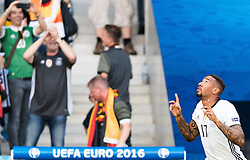 26.06.2016, Stade Pierre Mauroy, Lille, FRA, UEFA Euro 2016, Deutschland vs Slowakei, Achtelfinale, im Bild Torjubel Deutschland von Jerome Boateng (GER) // Jerome Boateng (GER) celebrate his Goal during round of 16 match between Germany and Slovakia of the UEFA EURO 2016 France at the Stade Pierre Mauroy in Lille, France on 2016/06/26. EXPA Pictures © 2016, PhotoCredit: EXPA/ JFK