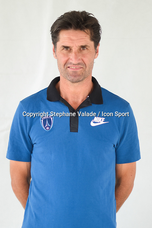 Pascal Grosbois during photoshooting of Paris FC for new season 2017/2018 on October 17, 2017 in Paris, France<br /> Photo : Stephane Valade / Icon Sport