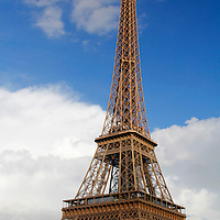 Europe, France, Paris. Eiffel Tower.