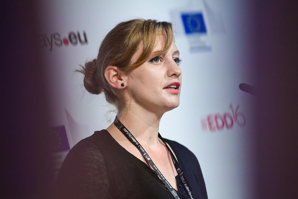 20160615 - Brussels , Belgium - 2016 June 15th - European Development Days - Juvenile justice in Afghanistan - A building block for peace - Marianne Moore , Director , Justice Studio © European Union