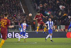 February 12, 2019 - Roma, Roma, Italia - Foto Luciano Rossi/AS Roma/ LaPresse.12/02/2019 Roma (Italia).Sport Calcio.AS Roma - Porto  .Uefa Champions League 2018 2019 - Stadio Olimpico di Roma.Nella foto:  Federico Fazio..Photo  Luciano Rossi/AS Roma/ LaPresse.12/02/2019 Roma (Italia).Sport Soccer.AS Roma - Porto   .Uefa Champions League 2018 2019 - Olimpic Stadium of Roma (Italy).In the pic: Federico Fazio (Credit Image: © Luciano Rossi/Lapresse via ZUMA Press)