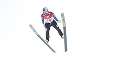 18.01.2014, Casino Arena, Seefeld, AUT, FIS Weltcup Nordische Kombination, Seefeld Triple, Skisprung, im Bild Alessandro Pittin (ITA) // Alessandro Pittin (ITA) during Ski Jumping at FIS Nordic Combined World Cup Triple at the Casino Arena in Seefeld, Austria on 2014/01/18. EXPA Pictures © 2014, PhotoCredit: EXPA/ JFK