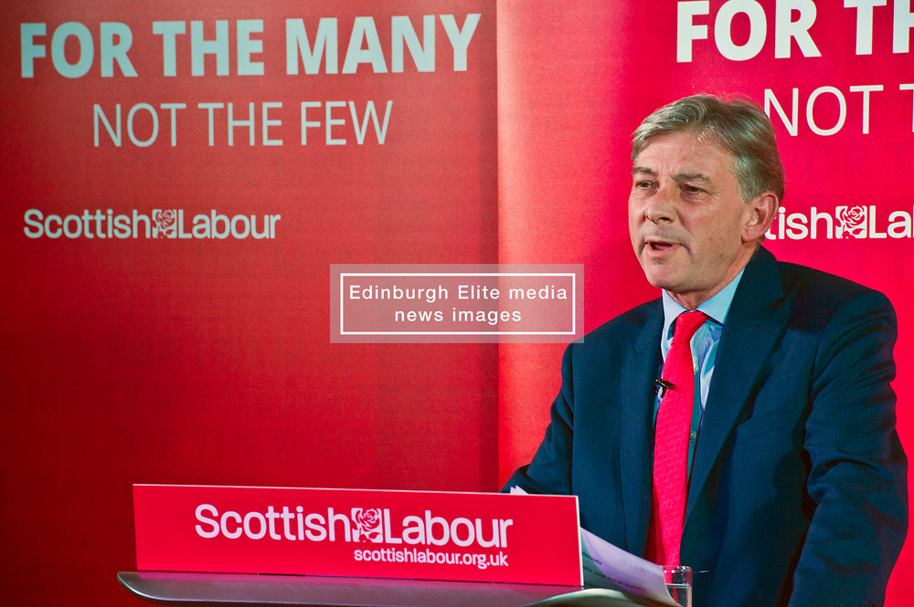 Pictured: Richard Keonard<br /> <br /> Jeremy Corbyn and Richard Leonard joined the Scottish Labour faithful tonight at a rally in at the Shottstown Miners Welfare Halls in Penicuik.<br /> <br /> They were joined by Labour MPs Ian Lavery and Danielle Rowley