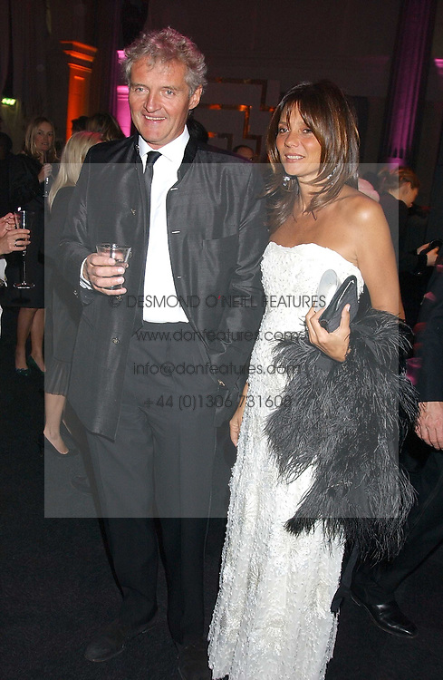 COUNT LEOPOLD & COUNTESS DEBONAIRE VON BISMARCK  at the Conservative Party's Black & White Ball held at Old Billingsgate, 16 Lower Thames Street, London EC3 on 8th February 2006.<br /><br />NON EXCLUSIVE - WORLD RIGHTS