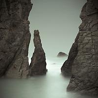Sandymouth cliffs, Cornwall, England