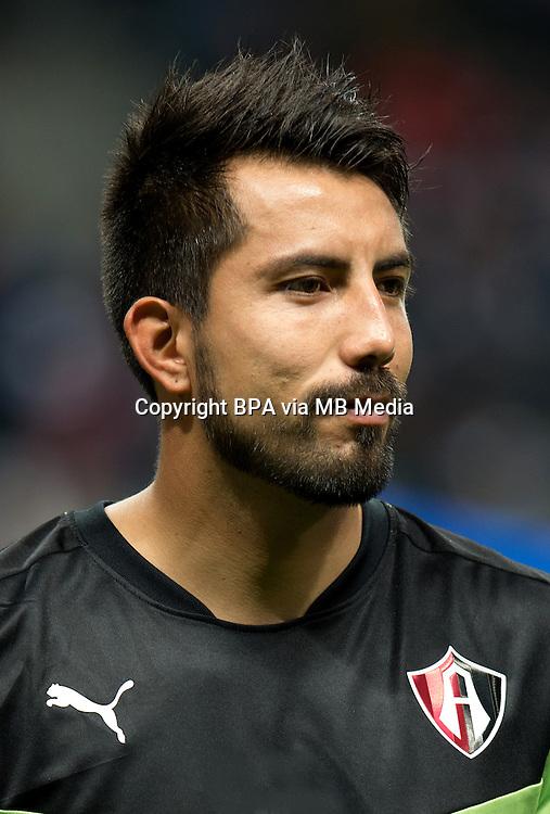 Mexico League - BBVA Bancomer MX 2015-2016 - <br /> Rojinegros - Club Atlas de Guadalajara Fc / Mexico - <br /> Miguel Angel Fraga Licona