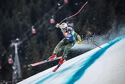 25.01.2020, Streif, Kitzbühel, AUT, FIS Weltcup Ski Alpin, Abfahrt, Herren, im Bild Travis Ganong (USA) // Travis Ganong of the USA in action during his run in the men's downhill of FIS Ski Alpine World Cup at the Streif in Kitzbühel, Austria on 2020/01/25. EXPA Pictures © 2020, PhotoCredit: EXPA/ Johann Groder